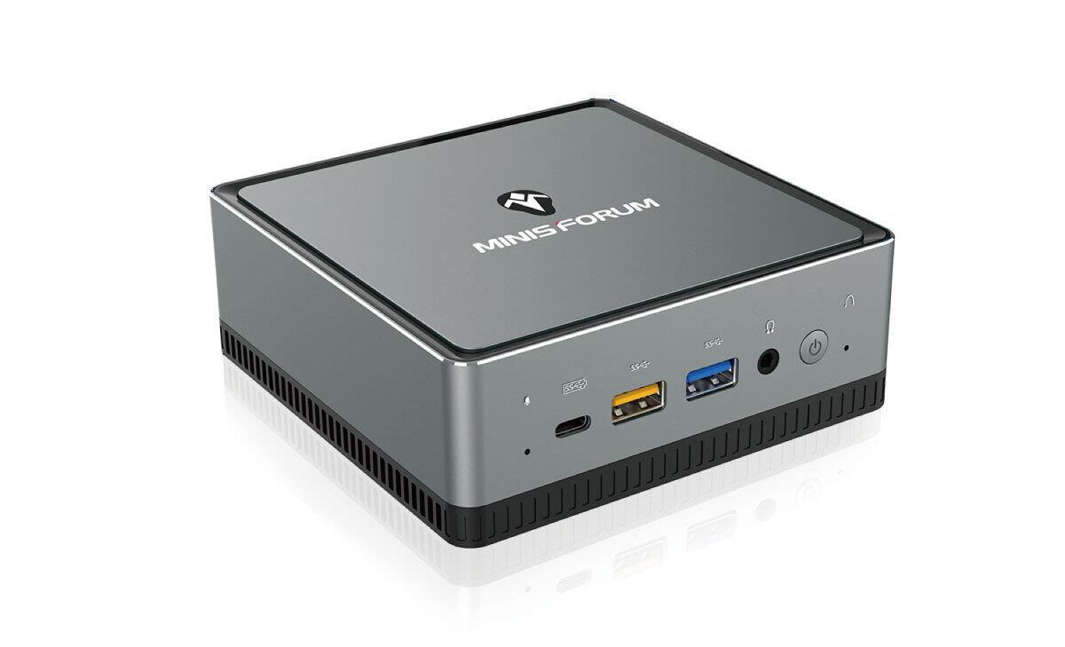MINIS FORUMの小型デスクトップ 4Kデュアルモニター接続も可能