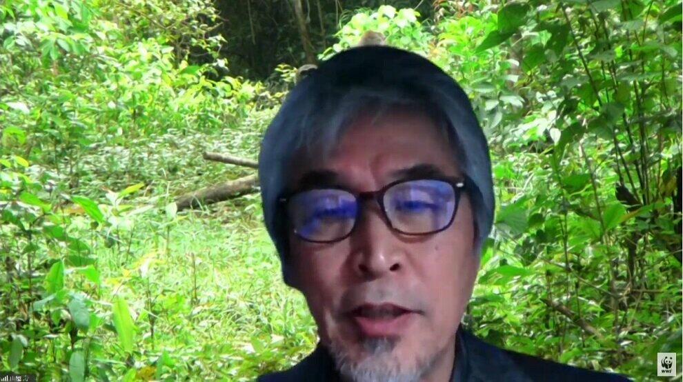 京都大学名誉教授の山極壽一氏(提供:WWFジャパン)