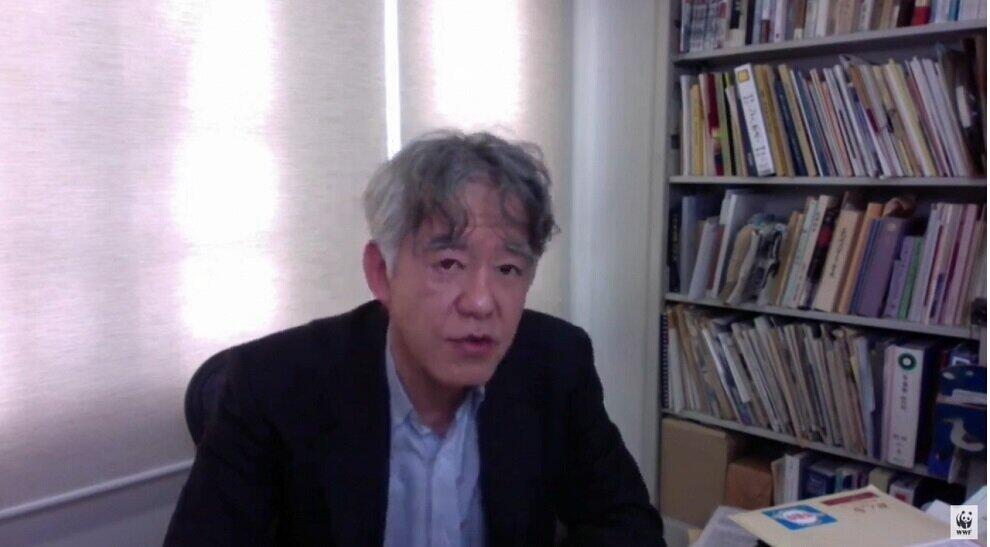 長崎大学熱帯医学研究所教授の山本太郎氏(提供:WWFジャパン)