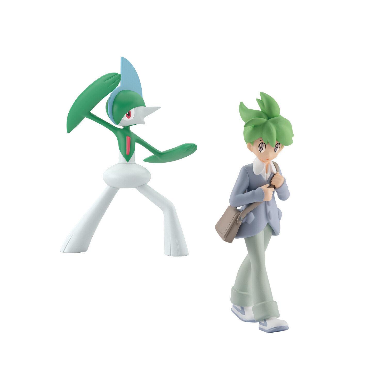 「ポケモン」キャラクターのフィギュア ミツル&エルレイドのセット