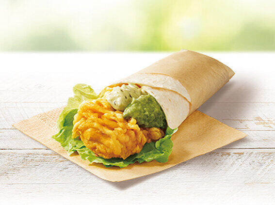 KFCが新フレーバー 「バジルアボカドツイスター」