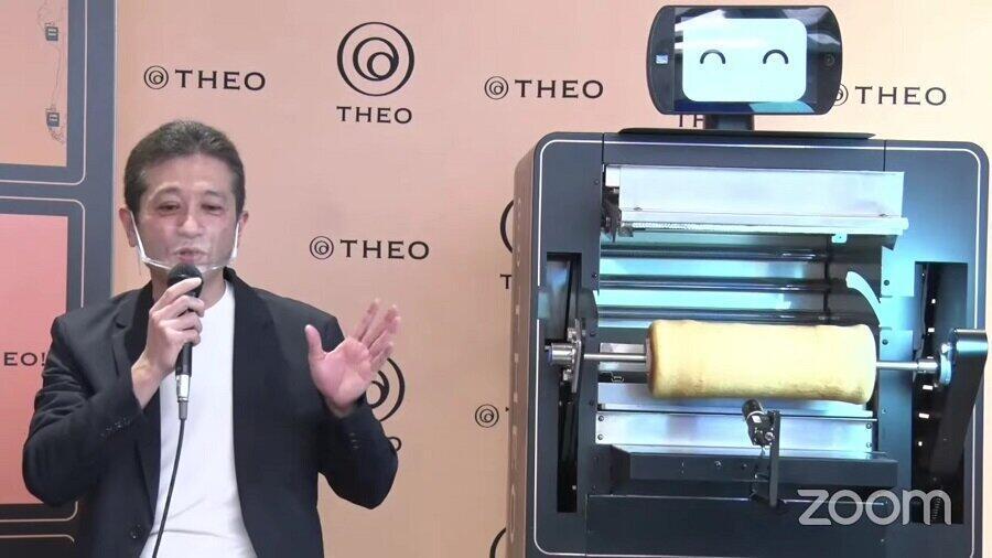 バームクーヘン焼成AI ロボット「THEO」とは