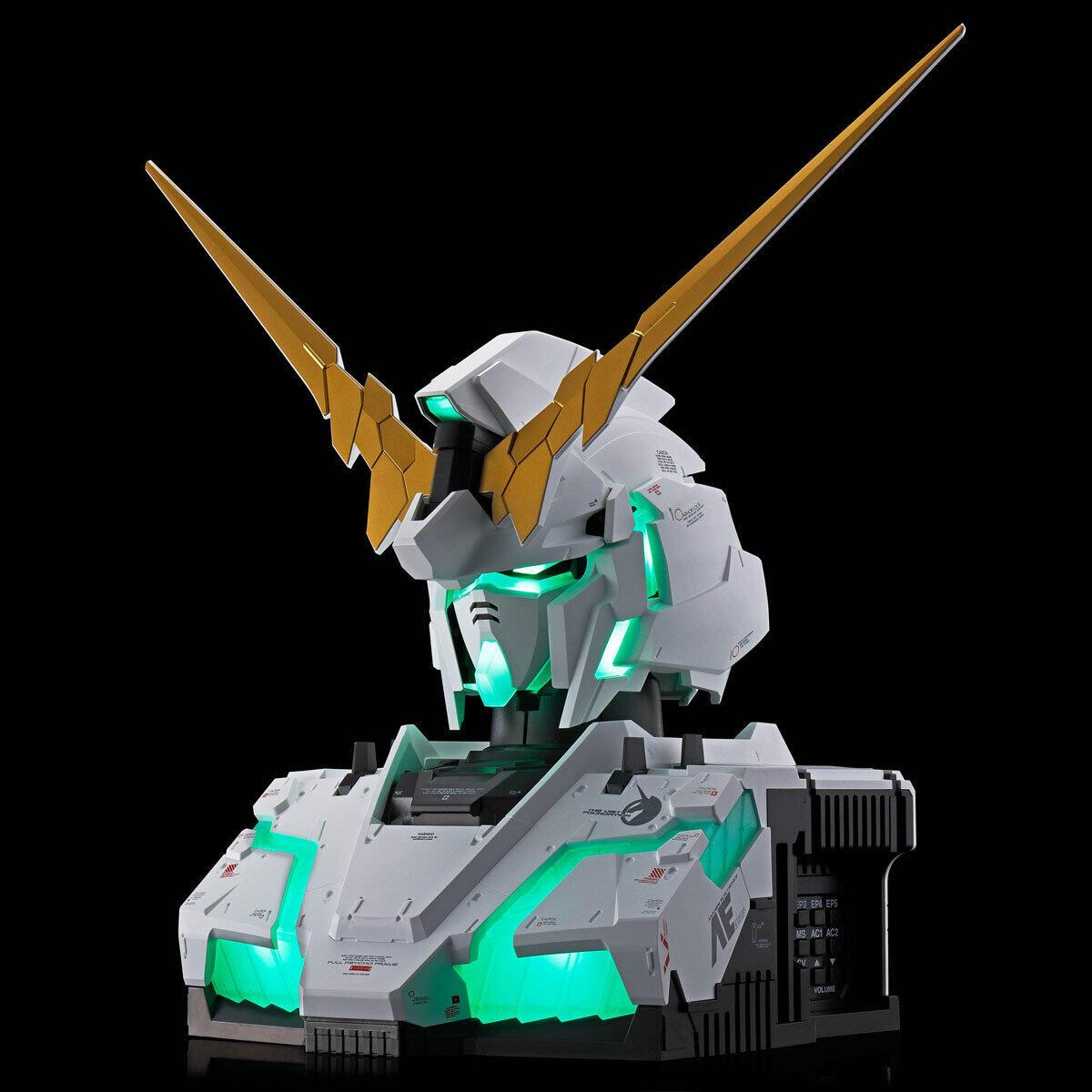 「RX-0 ユニコーンガンダム」 変身シーンを再現可能な胸像ガンプラ