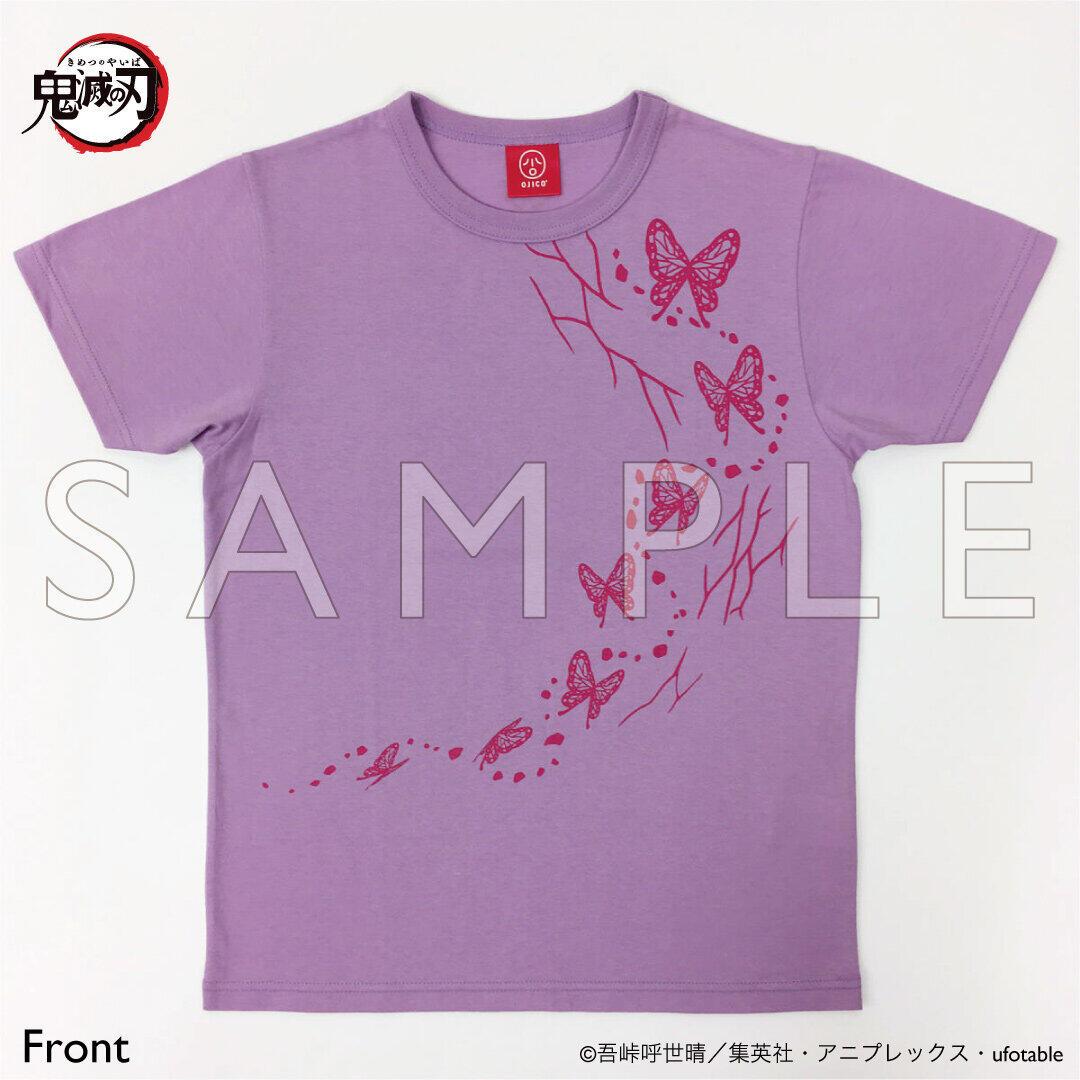 「鬼滅の刃」胡蝶しのぶと我妻善逸のTシャツ