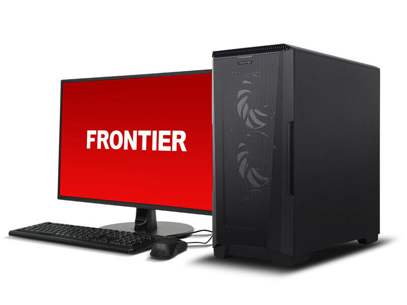 第11世代「Core」CPU搭載デスクトップPC BTOブランド「FRONTIER」から