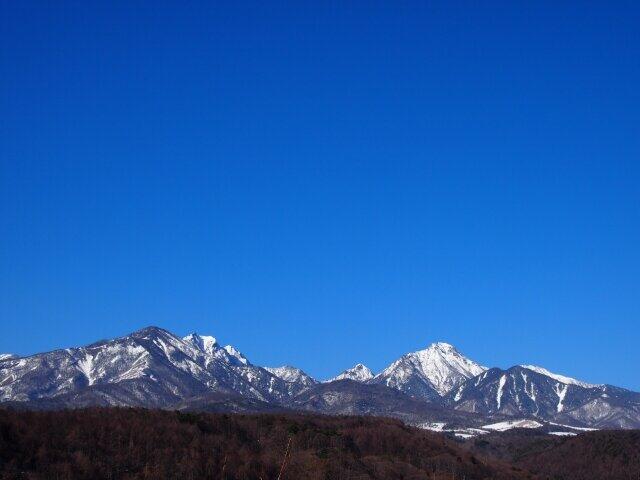 八ヶ岳の美しい風景