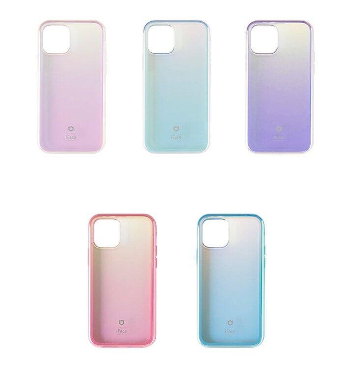 日差しやiPhoneのカラーの違いで表情が変わる