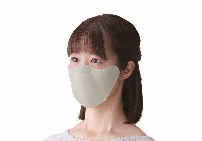 キングジムから「ひもなしマスク」 顔に貼り付け、もう耳が痛くならない