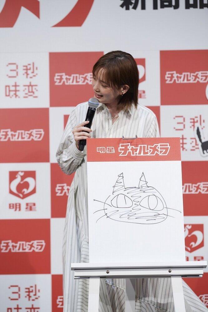 本田さんが3秒で描いた「黒猫」(画像4)