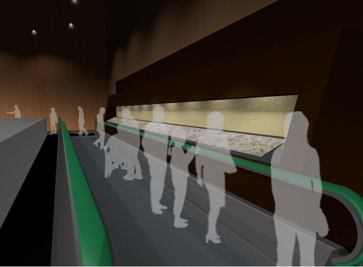 「動く歩道」イメージ図