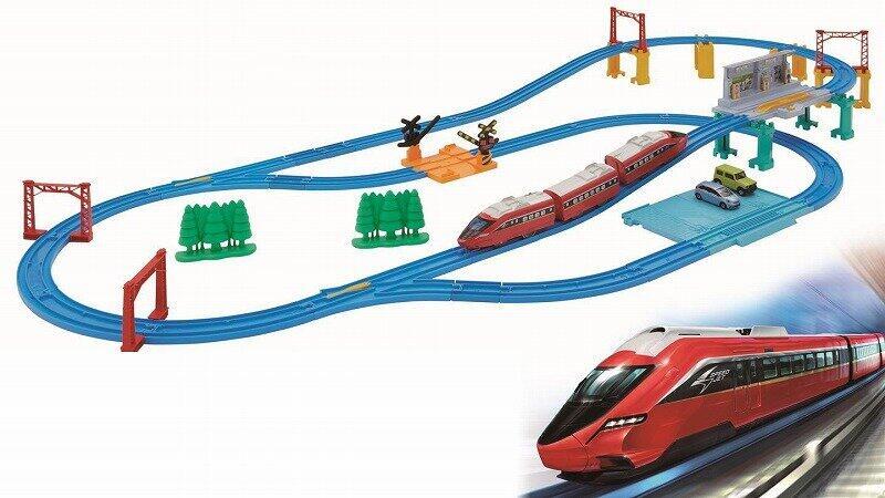 「プラレール鉄道」のオリジナル車両 「スピードジェット」オールインワンセット