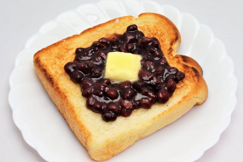 みんな大好き「小倉トースト」