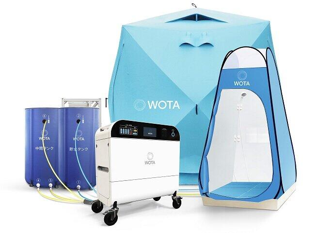 自律分散型水循環システム「WOTA BOX」