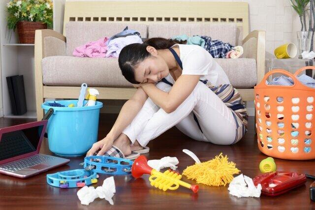 新型コロナ長期化で主婦へのストレスは(画像はイメージ)