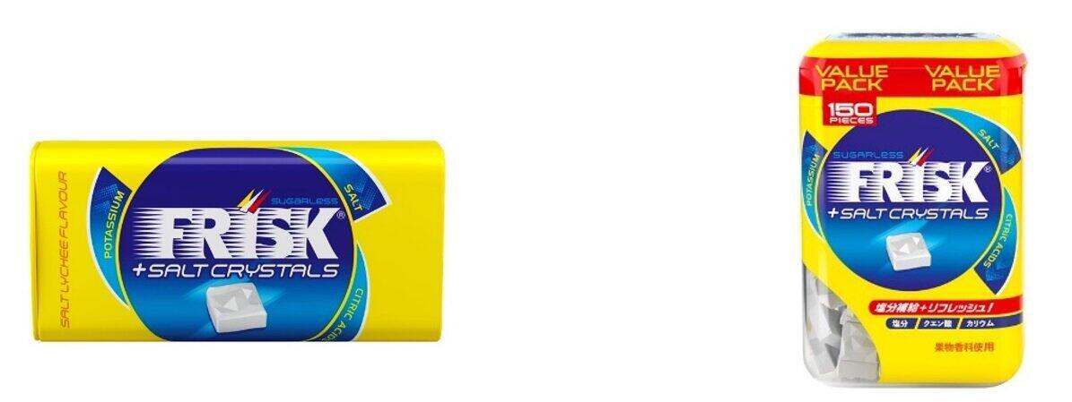 「フリスク」から「ソルトクリスタル ソルティライチ」 手軽に塩分&ミネラル補給