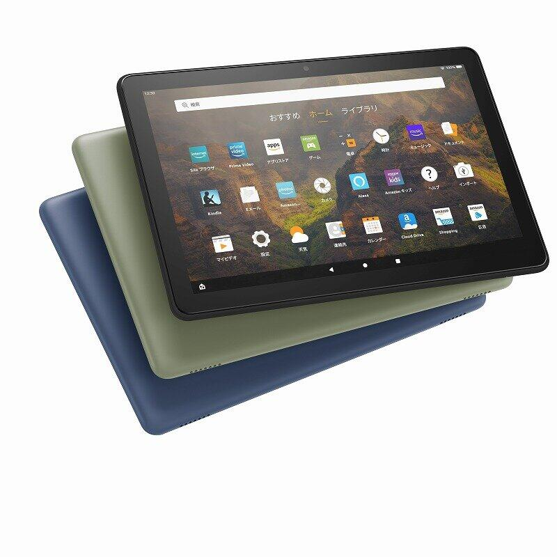 アマゾンのタブレット「Fire HD 10」 さらに薄型軽量、持ち運びしやすく進化