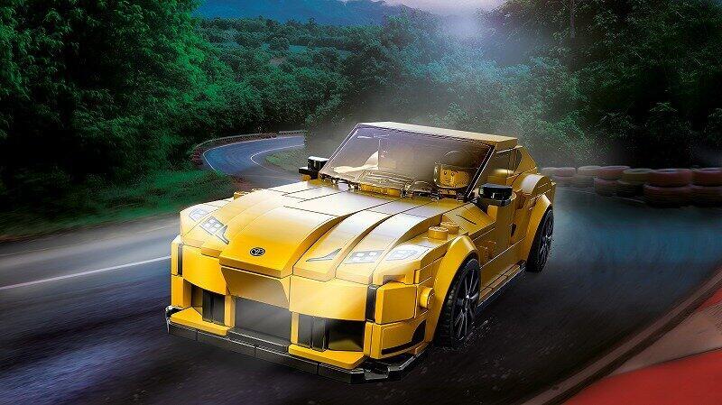 トヨタ「GRスープラ」を組み立てられる 「レゴ スピードチャンピオン」