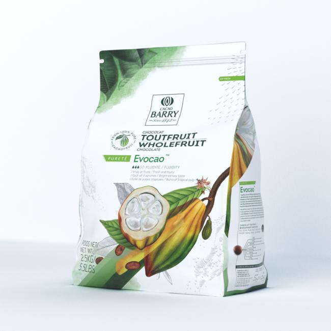「100%カカオフルーツ」のみから作られたホールフルーツチョコレート製品「EVOCAO(エヴォカオ)」