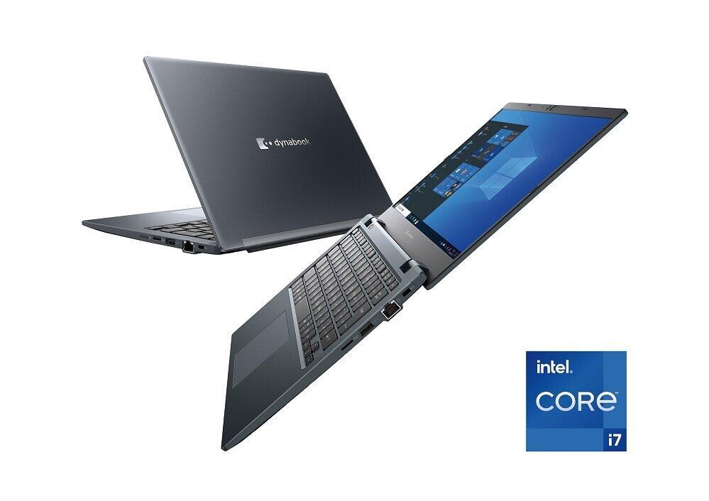 13.3型クラスのモバイルPC「dynabook G83/HS」。CPUを効率良く放熱し、その性能を安定して引き出す「エンパワーテクノロジー」を搭載し、パワフルな性能を誇る。
