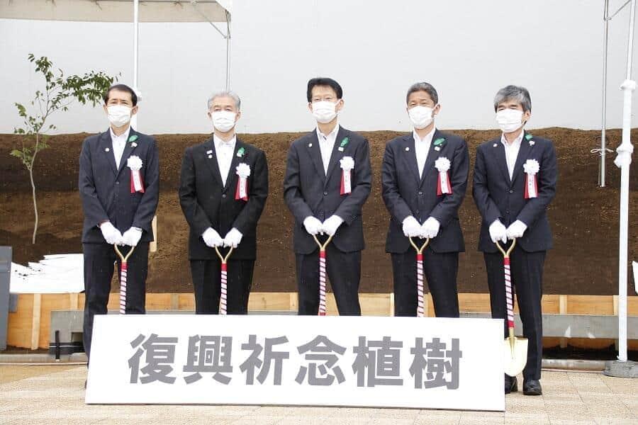 東京五輪の競技会場に被災地「シンボルツリー」を植樹 東日本大震災への復興祈念