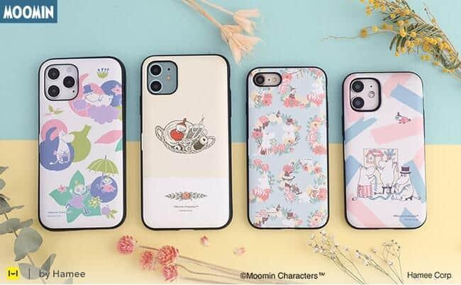 ムーミンデザインのiPhoneケース くすみカラーで大人女子にぴったり