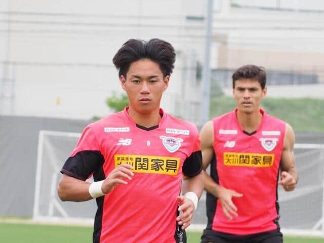 練習中の林選手(c)SAGAN DREAMS CO.,LTD.