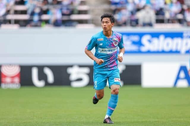 試合中の林選手(c)SAGAN DREAMS CO.,LTD.