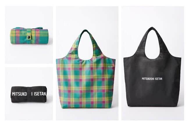 2020年7月の発売から累計9万枚売れた「三越伊勢丹オリジナルコンパクトバッグ」