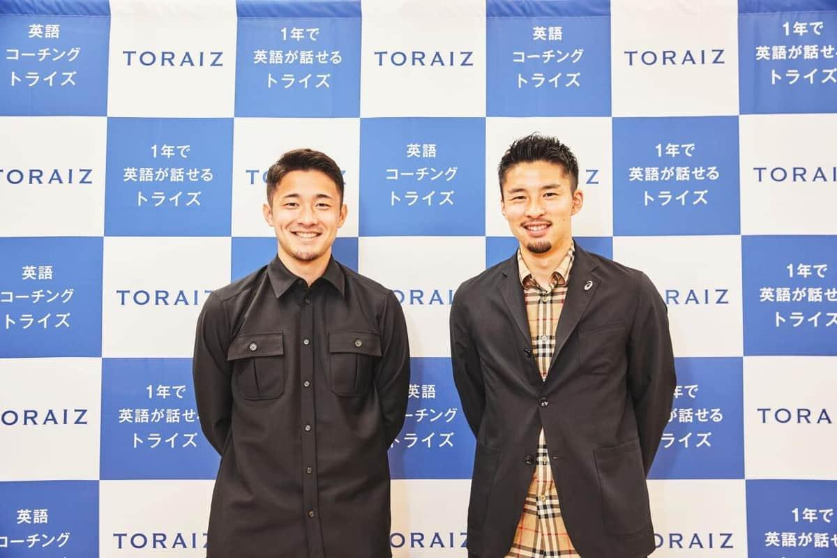 サッカー中山雄太、菅原由勢が英語力披露 1000時間学習でチームでも堂々会話