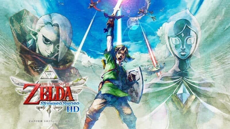 Nintendo Switch版「ゼルダの伝説 スカイウォードソードHD」 「Wii」版の直感操作を再現