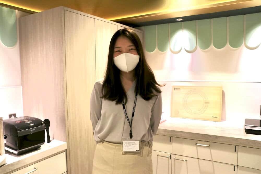広報担当・萩谷さん お菓子作りの経験は