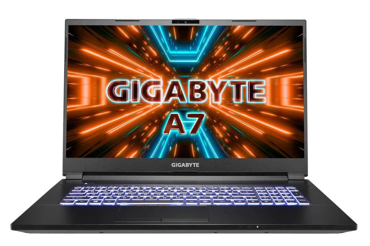 ゲーミングノートPC「GIGABYTE A7」 GIGABYTE初「Ryzen」CPU搭載
