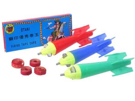 空へ飛んでけ「ロケット弾」 音が鳴るだけなのに昭和男子がこぞって愛したおもちゃ