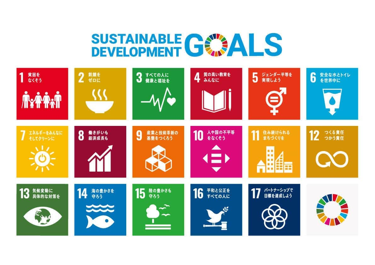 SDGsロゴと17のアイコン