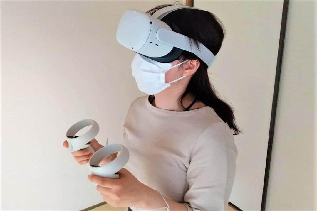 記者、人生初Oculusである