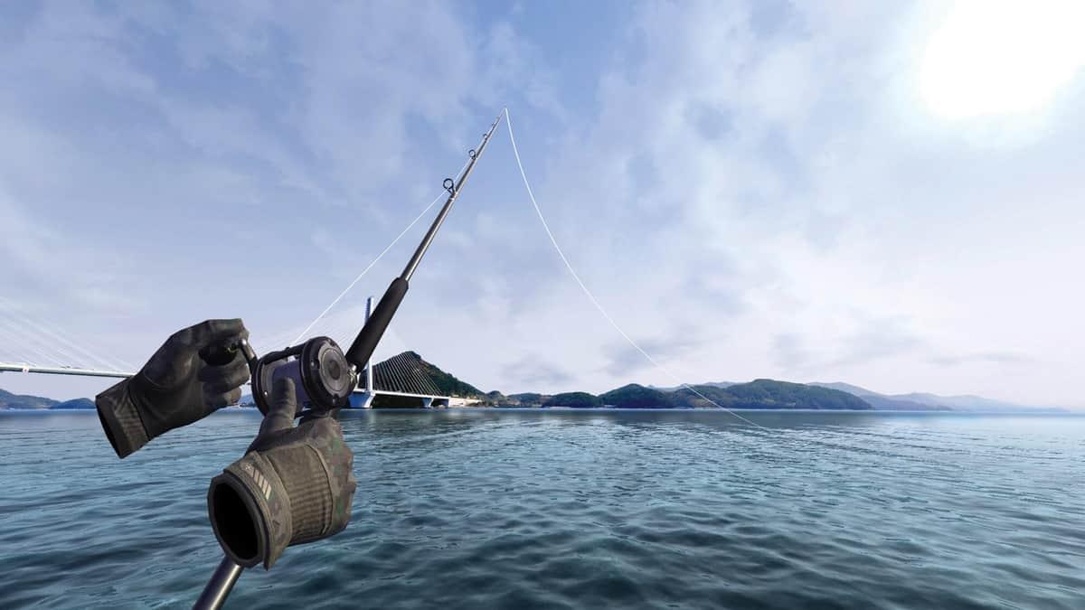 ドコですか、ここ!?(画像は「Real VR Fishing」公式より)