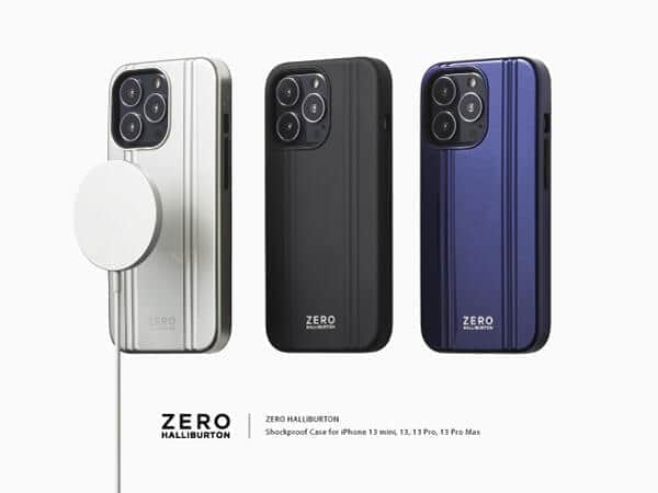 iPhone 13シリーズ向け耐衝撃ケース 「ゼロハリバートン」とコラボ