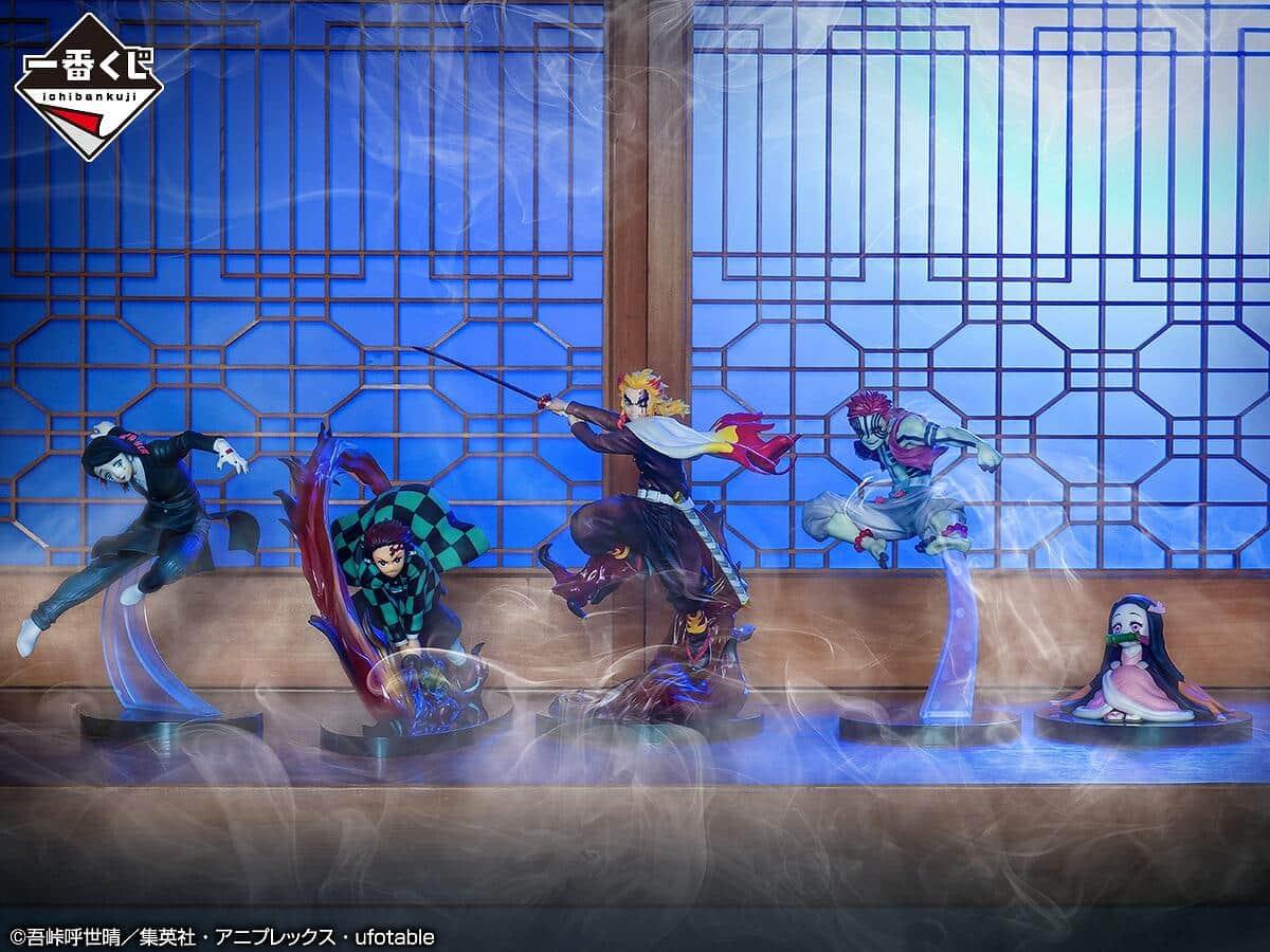 「鬼滅の刃」ハズレなしの「一番くじ」 アニメ描写を再現したフィギュア当たる