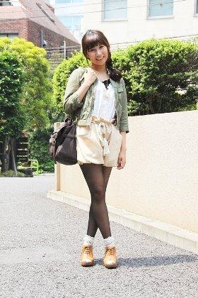 東京ファッション通信148~ナチュラルジャケットはローリーズファーム