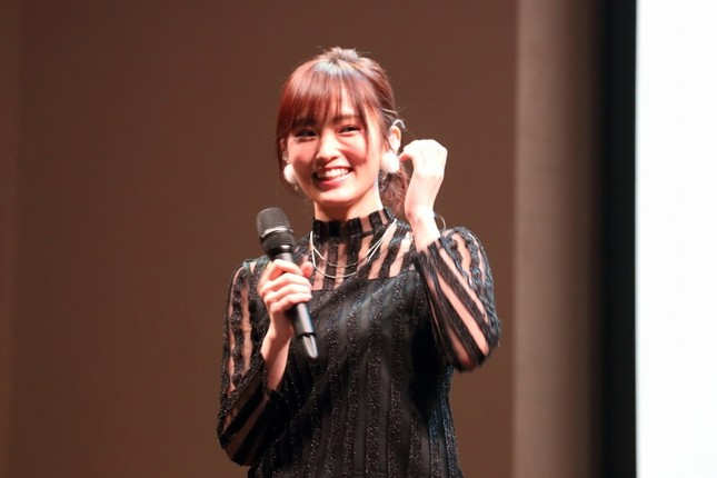 NMB48の山本彩(2016年10月撮影)