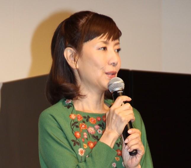 女優の戸田恵子(写真は2015年9月29日撮影)