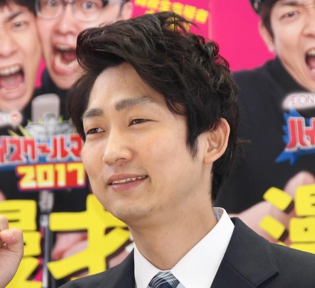石田明(2017年4月撮影)