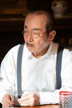 小山田耕三役の志村けんさん(NHK番組ホームページより)