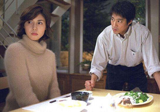 「やまとなでしこ」の松嶋菜々子と堤真一(フジテレビ公式サイトより)