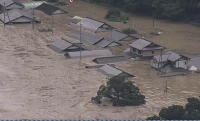 熊本豪雨(NHKの番組ホームページより))