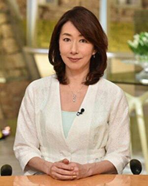 長野智子キャスター(テレビ朝日の番組ホームページより)