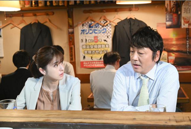 よき上司と部下だったナギサさんとハシオさん(TBSの番組ホームページより)