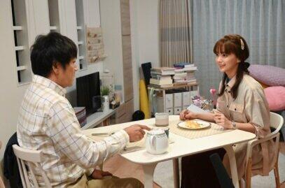 メイとナギサさんのトライアル結婚生活がはじまる(TBS番組ホームページより)