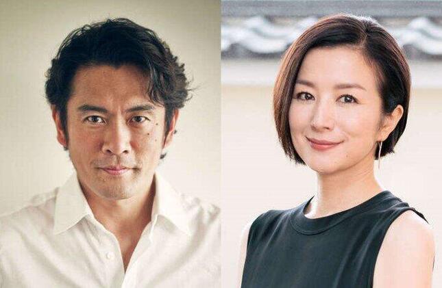 両親役の内野聖陽と鈴木京香(NHKの番組公式サイトより)
