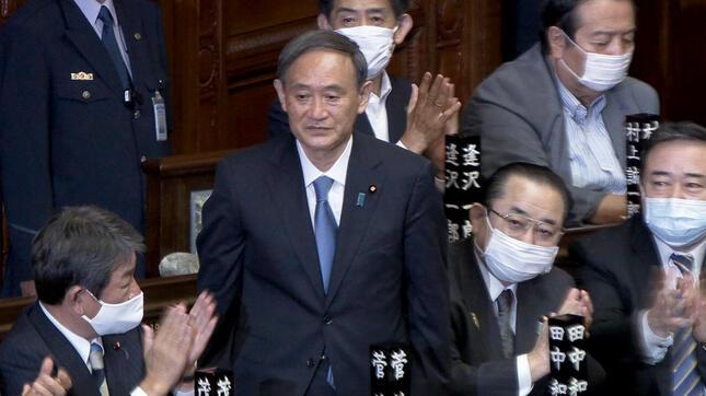 菅義偉内閣の誕生(写真はイメージ、NHKの番組ホームページより)